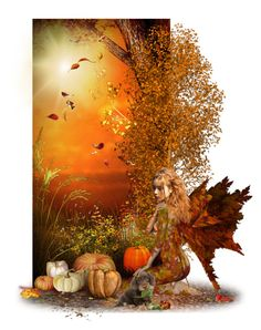 """Under The Autumn Sun"" by chileez ❤ liked on Polyvore featuring art"