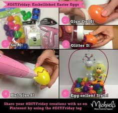 #DIYFriday style Easter eggs