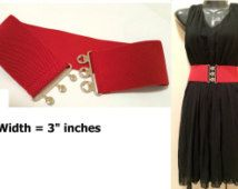 Popular items for fabric belt on Etsy