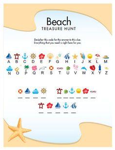 Great Beach Treasure Hunt for kids! FUN!