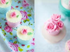 Flowers - Rose Cupcakes