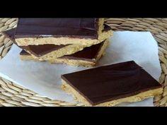 Como Fazer : Barra de Chocolate com Amendoim (  Amo Doce Caseiro ) - YouTube