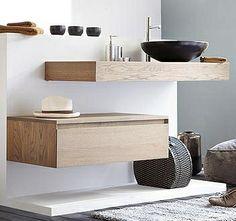 Meubles de salle de bains : design et confort   Espace Aubade
