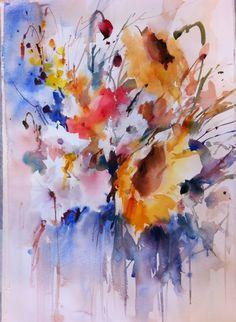 janet rogers watercolor #watercolor jd