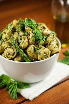 Enjoy summer's abundance of fresh basil in this flavorful tortellini salad.