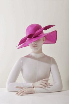 Hats Have It Philip Treacy Hats, Races Style, Love Couture, Races Fashion, Millinery Hats, Pink Hat, Love Hat, Summer Hats, Hats For Women