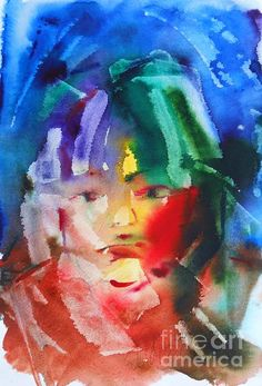 Miss Z by Tatjana Krilova Watercolors, Greeting Cards, Wall Art, Painting, Water Colors, Painting Art, Watercolor Paintings, Paintings, Painted Canvas
