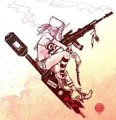 Tank Girl! Badassness.