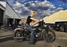 Ok, the ONLY Harley I will ever sit on!! You know I'm a super bike girl!! Thank you @dwg70 for the ...