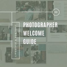 Portrait photographer welcome guide. Documentary wedding and lifestyle branding templates. Photography Templates, Photography Pricing, Photography Marketing, Photography Business, Marketing Magazine, Branding Template, Photographer Branding, Documentary Photographers, Magazine Template