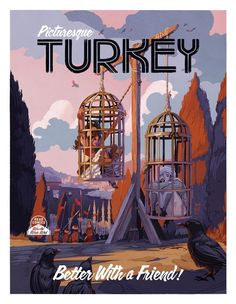 Delilah Dirk - PICTURESQUE TURKEY by Tony Cliff