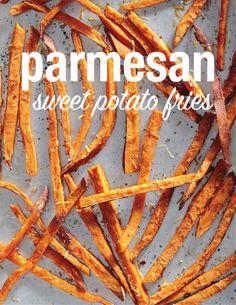Parmesan Sweet Potato Fries | Martha Stewart Living