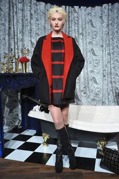 Alice and Olivia by Stacey Bendet runway photos