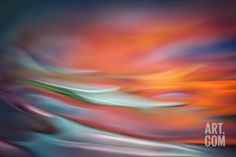Evening Water Photographic Print by Ursula Abresch at Art.com