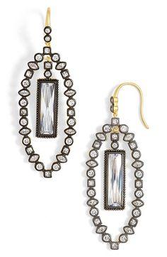 Freida Rothman 'Metropolitan' Marquise Drop Earrings available at #Nordstrom