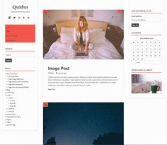 Quidus WordPress template