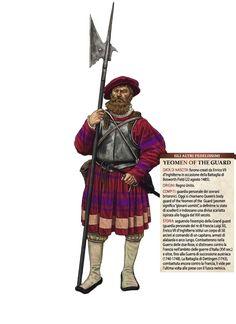 Giorgio Albertini - Yeoman inglés, siglo XVI