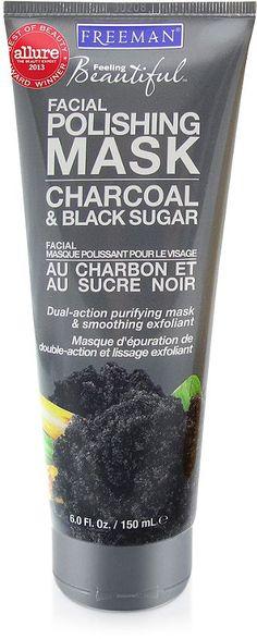 Freeman Charcoal & Black Sugar Facial Polishing Mask