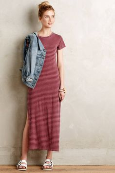 Crewneck Jersey Dress by Sundry #anthrofave #anthropologie