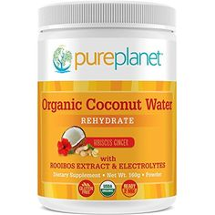 Organic Coconut Water Rehydrate Pure Planet Products 160 g Powder * Visit the image link for more details.