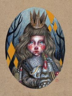 Carrying with it far too long by Paulette Jo, via Behance