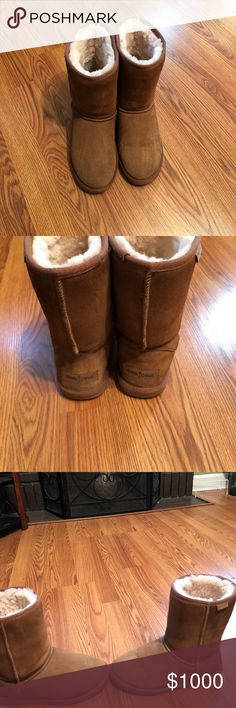 Minnetonka Callahan Sheepskin boots size 9 Minnetonka Callahan Sheepskin boots size 9• GUC• Boot are very warm and perfect for fall/winter. Minnetonka Shoes Ankle Boots & Booties
