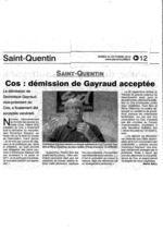 GAYRAUD DOMINIQUE RAPPEL COS
