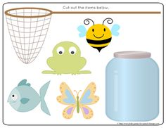 Preschool Speech Therapy Activities: Printable Materials  for teaching in/on/under Follow all our boards at pinterest.com/linguahealth for our latest therapy pins and visit linguahealth.com
