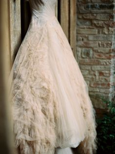 Vera Wang - Classic Tuscan Villa Wedding by Tuscan Dream (Event Planning), Katie Grant (Photography) + Julian Navarette (Photography - Assistance)