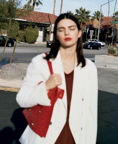 Photography: Angelo Pennetta Styled by: Sara Moonves Hair: Tamara Mcnaughton Makeup: Emi Kaneko Model: Kendall Jenner