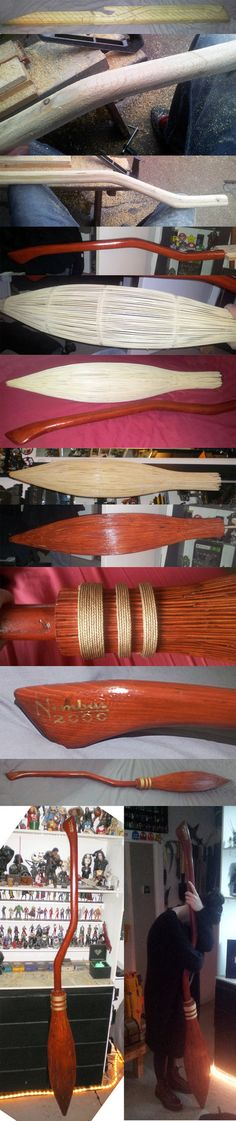 Nimbus 2000 build step by step by EvilDan on DeviantArt