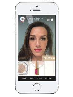 You don't even have to upload a photo: Makeup Genius applies everything from cat eyes to bold red lipstick and pink blush (or all three!) in—get this—real time. Using your smartphone's front-facing camera, the app scans 64 points on your face to perfectly swipe on lipstick, blush, eye shadow, and liner. Because it all happens live, you can test out each look at different angles, which is, well, just genius.Available for iPhone