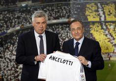 La presentación de Ancelotti