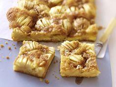 Apfelkuchen vom Blech - Kuchengenuss im Quadrat