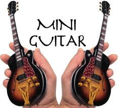 Mini Guitars Music Legends Collection