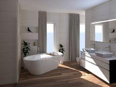 3D Látványterv Caesar Hike, Imola The Room és FAP Meltin burkolattal #3dlátványterv #3dlátványtervezés #baustyl #lakberendezes #lakberendezesiotletek #stylehome #otthon #homedecor #inspiration #design #homeinspiration #interiordesign #interior #elevation #3dplan #bathroom #Caesar #Imola #Fap 3d Visualization, Bathroom Ideas, Bathtub, Home Decor, Standing Bath, Bathtubs, Decoration Home, Room Decor, Bath Tube