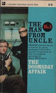 The Man from U.N.C.L.E - The Doomsday Affair, front cover. Best of the written series