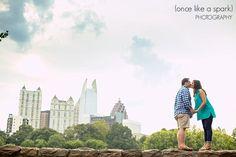 Jamie + Andrew. Engaged. Couple. Getting Married. Engagement Photography. Atlanta, GA. Georgia on My Mind.  #engagementphotographer