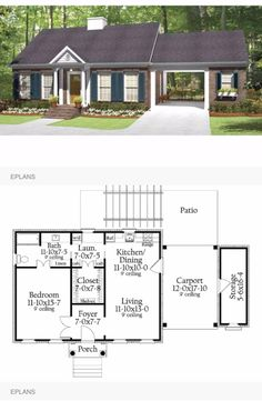 Perfect floor plans in 2019 retirement house plans, tiny houseperfect cottage floor plans, tiny Retirement House Plans, Guest House Plans, Cottage Floor Plans, Small House Plans, Guest Houses, Retirement Planning, Mother In Law Cottage, In Law House, Earthship Home