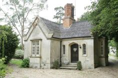 Gate Lodge = adorable stone lodge
