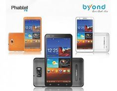 Byond has launched a new product as Phablet PIII in the Indian market.