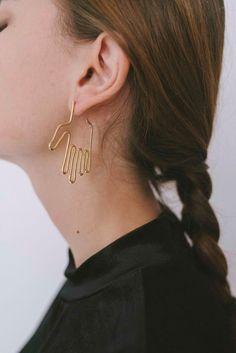 Hand Earrings: