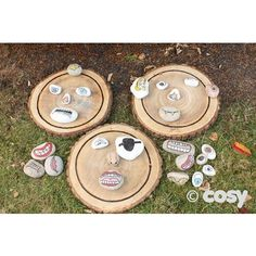 LOG FACES/ARTIST'S PALLETT (3PK) - Autism - Special Needs - Cosy Direct