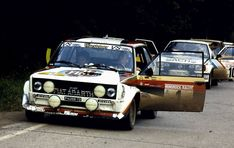 Fiat Cars, Fiat Abarth, Rally Car, Vintage Racing, Porsche, Sport, Vehicles, Rally, Group