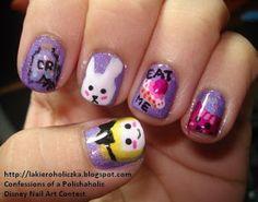 wuliao nails...: Alice in Wonderland Nail Art