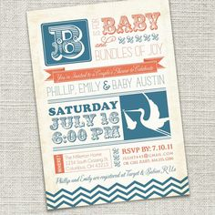 LOVE these invitations...DIY printables!