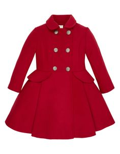 Ally Coat | Red | Monsoon