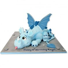 Dragon Cake Dragon Cake - idea for Wyatt's birthday cake. BrodskyDragon Cake - idea for Wyatt's birthday cake. Dragon Birthday Cakes, Toddler Birthday Cakes, Cake Birthday, Birthday Ideas, Dragons Cake, Cute Dragons, Cake Icing, Fondant Cakes, Idee Baby Shower