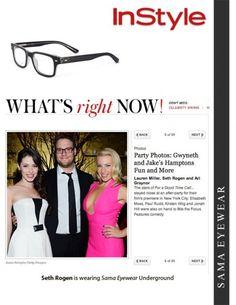 6ba496616253 126 Best Sama Eyewear Celebs images | Eye Glasses, Eyeglasses, Eyewear