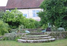 Lutuyens-Treppe in Great Dixter England